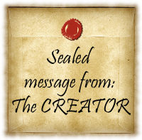 Secret, Sealed message from The Creator