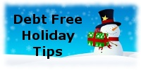 Debt Free Holiday Budgeting Tips