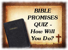 Bible Promises Quiz