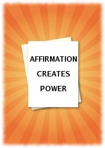 Affirmation Creates Power