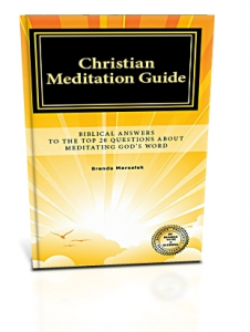 Christian Meditation Guide Biblical Answers Book